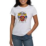 Yebra Family Crest Women's T-Shirt