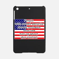Armed security iPad Mini Case