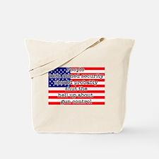 Armed security Tote Bag