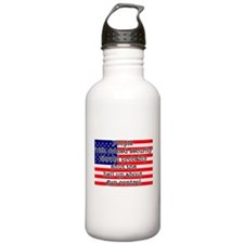 Armed security Water Bottle