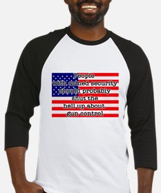 Armed security Baseball Jersey