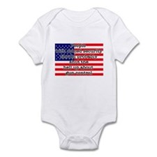 Armed security Infant Bodysuit