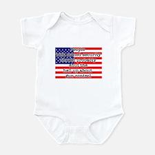 Armed security Infant Bodysuit