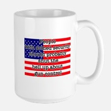 Armed security Ceramic Mugs