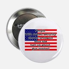 "Armed security 2.25"" Button (100 pack)"