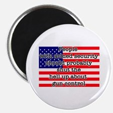 """Armed security 2.25"""" Magnet (10 pack)"""