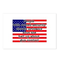 Armed security Postcards (Package of 8)