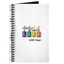 Chief Leader Life Live Positive T shirt Journal