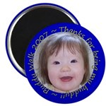 Mia's Buddy Walk Pins Magnet