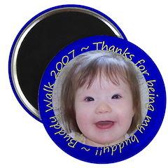 Mia's Buddy Walk Pins Magnet