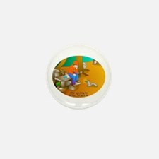 Geocaching Blues Mini Button (100 pack)