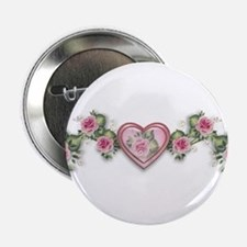 Painted Roses Button