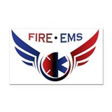 "Fire medical 3"" x 5"""