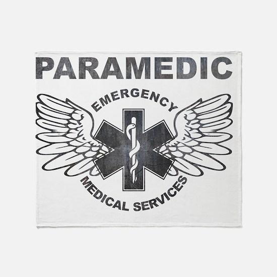 Paramedic Ems Sol Wings Throw Blanket