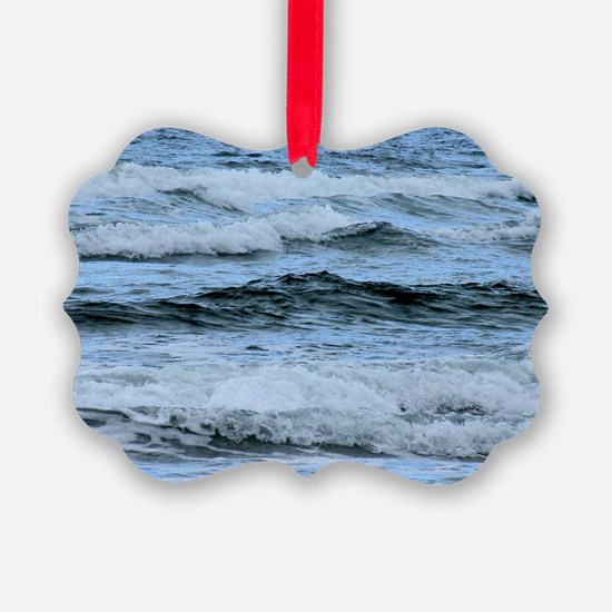 Waves Ornament