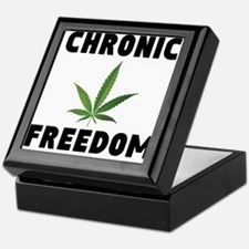 CHRONIC FREEDOM Keepsake Box