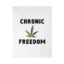 CHRONIC FREEDOM Twin Duvet