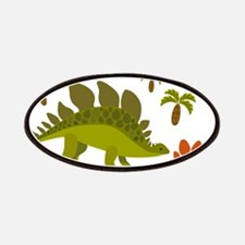 Cute Stegosaurus Patch