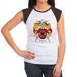 Xuarau Family Crest Women's Cap Sleeve T-Shirt