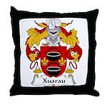 Xuarau Family Crest Throw Pillow