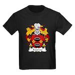 Xuarau Family Crest Kids Dark T-Shirt
