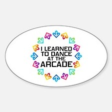 I Learned to Dance at the Arcade (B Decal