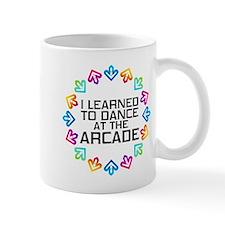 I Learned to Dance at the Arcade (Black Mug
