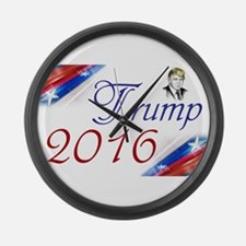 Trump 2016 Large Wall Clock