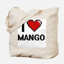 I Love Mango Tote Bag