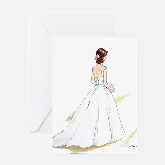 Down the Isle Greeting Cards