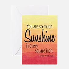 Sunshine Greeting Cards