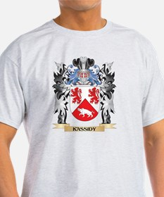 Kassidy Coat of Arms - Family Crest T-Shirt