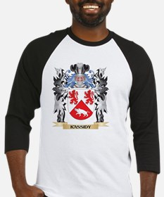 Kassidy Coat of Arms - Family Cres Baseball Jersey