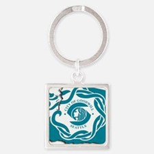 City of Seattle Flag Keychains