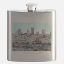 Funny Beach rose Flask