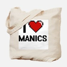 I Love Manics Tote Bag