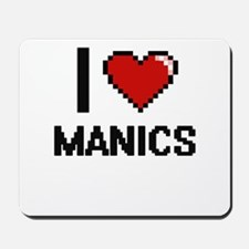 I Love Manics Mousepad