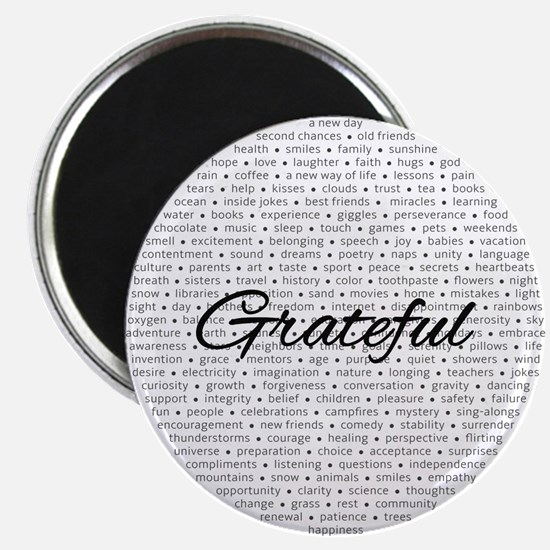 Grateful For... Magnets