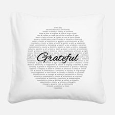 Grateful for... Square Canvas Pillow