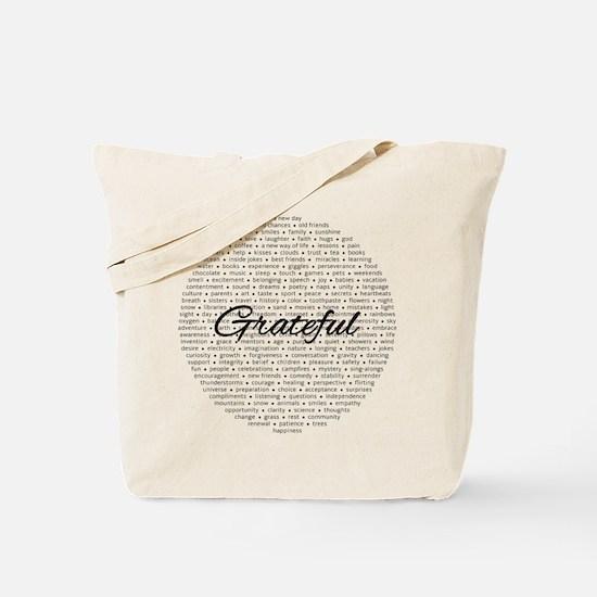 Grateful for... Tote Bag