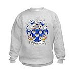 Villamarin Family Crest Kids Sweatshirt