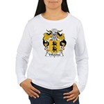 Villalobos Family Crest Women's Long Sleeve T-Shir