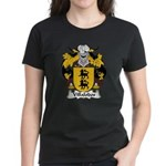 Villalobos Family Crest Women's Dark T-Shirt