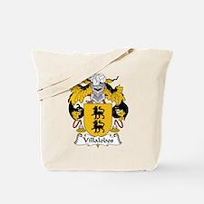Villalobos Family Crest Tote Bag
