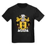 Villalobos Family Crest Kids Dark T-Shirt