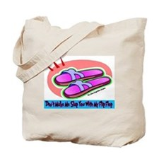 Slap Flip Flop Tote Bag