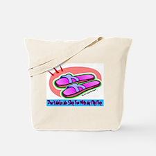 Slap Flip Flop Tote Bag
