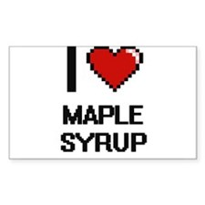 I Love Maple Syrup Decal