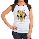 Villa Family Crest Women's Cap Sleeve T-Shirt
