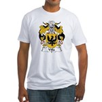 Villa Family Crest Fitted T-Shirt